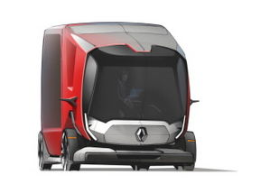 le camion du futur selon renault trucks. Black Bedroom Furniture Sets. Home Design Ideas