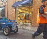À Cahors, des robots autonomes peuvent porter jusqu'à 600 kg