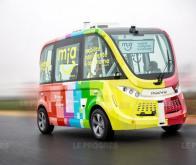 A Lyon, la navette autonome Mia va transporter des passagers sur route ouverte