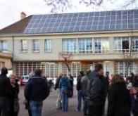 A Lyon, un collège se chauffe à l'énergie solaire