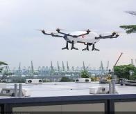 Airbus fait fonctionner un drone de livraison et son point relais de façon autonome