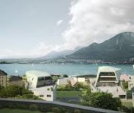 Annecy : le réseau de chauffage d'un nouveau quartier puisera son énergie dans le lac