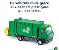Des camions-bennes qui carburent aux plastiques