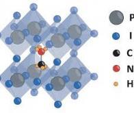 Des cellules pérovskites plus performantes grâce à la chimie