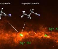 Des molécules complexes dans l'Espace avant même la formation des étoiles…