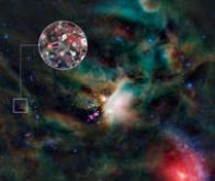 Des molécules de sucre dans l'espace proche d'une étoile semblable à notre soleil