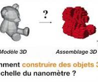 Des objets 3D d'une précision inégalée obtenus à partir d'ADN