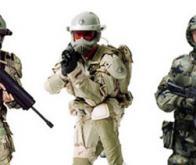 Des soldats américains transformés en -Iron Man-