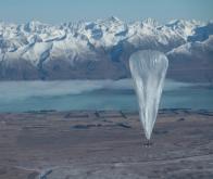 Internet : couvrir le monde entier grâce à un réseau de ballons stratosphériques !