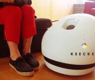 Keecker, le robot français qui veut révolutionner la maison