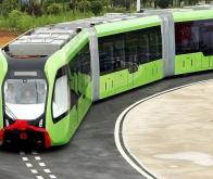 La Chine présente son tramway sans rails ni conducteur !