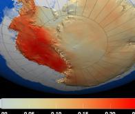 La disparition des grands glaciers de l'Antarctique est inexorable !