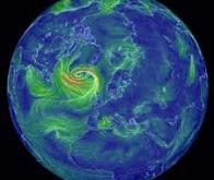 La force des vents en nette augmentation au niveau mondial