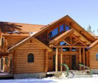 La maison en bois pied au plancher