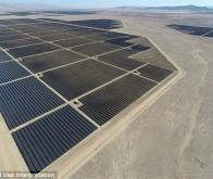 La plus grande centrale solaire du monde inaugurée en Californie