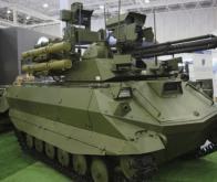 La Russie teste son robot de combat et de reconnaissance Vikhr