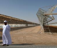Lancement du chantier de la plus grande centrale solaire au monde
