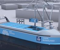 Le premier navire porte containers électrique et automatique