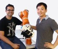 Le robot qui attrape les objets au vol