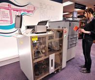 Le robot qui imprime votre livre en 15 minutes