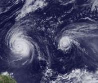 Les aérosols réduiraient le rythme des tempêtes tropicales