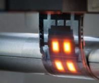Les LED flexibles à nanofils ouvrent la voie vers des écrans pliables