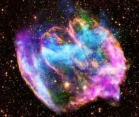 L'explosion d'une supernova projette dans l'espace les ingrédients de la vie