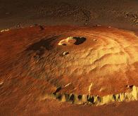 Mars : un volcan géant a fait basculer la planète rouge il y a trois milliards d'années !