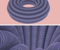 Mathématiques : première image d'un tore plat en 3D