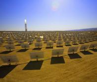 Mise en service de la plus grande centrale solaire thermique du monde