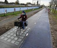 Première piste cyclable solaire : un bilan positif !