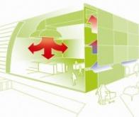Réaliser 30 % d'économie d'énergie avec une façade aérothermique