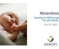 Sanofi annonce des résultats positifs pour un essai de phase III avec le nirsevimab