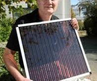 Stocker l'énergie solaire avec de l'eau et de la rouille