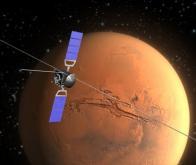 Un ancien océan martien détecté par radar