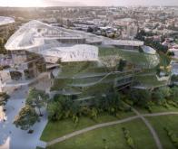 Un bâtiment biomimétique va être construit à Paris