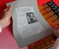 Un écran révolutionnaire proche du papier