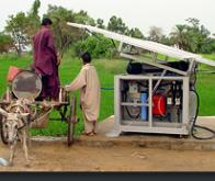 Un extracteur d'eau atmosphérique à énergie solaire