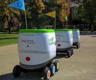 Un goûter livré par robot pour les étudiants de l'Université du Pacifique…