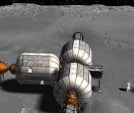 Un habitat gonflable en orbite autour de la Lune dès 2022 ?