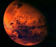 Un lac souterrain découvert sur Mars