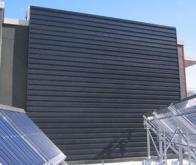 Un mur solaire pour limiter son empreinte écologique