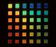 Un nouveau matériau qui peut modifier la couleur de la lumière
