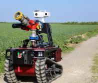 Un robot pour assister les pompiers dans leurs missions les plus dangereuses