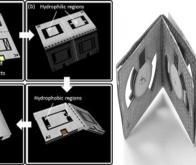 Une batterie en papier origami