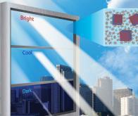 Une fenêtre intelligente qui filtre à volonté chaleur et lumière