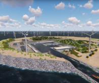 Une île artificielle produisant de l'énergie verte pour 80 millions d'Européens