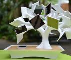 Biomimétisme : un micro entonnoir en silicium augmente l'efficacité des cellules solaires