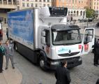 Le plus gros camion de livraison électrique mondial testé à Lyon