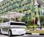 Un véhicule urbain sans pilote à l'essai à Singapour